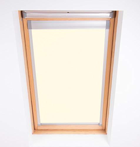 Bloc Skylight Blind M04-Techo para Ventanas Velux, Opaco,60.3 x 73 cm, Crema