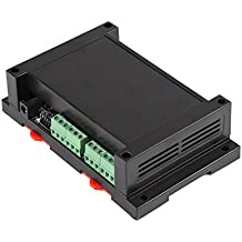 Relé 8Vías con cubierta, interruptor de relé 8canales–para RJ45TCP/IP 250V/AC 10A (negro)