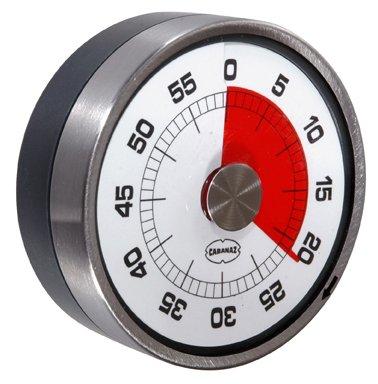 Cabanaz Retro Eieruhr/Küchentimer Tachometer Grey
