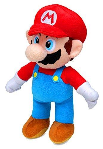 Super Mario (30cm) y Yoshi (27cm) ¡Peluche, Juguetes Suaves, Original, 2 Caracteres Disponibles! (Super Mario_Plush_30cm)