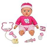 JVY Recién nacido muñeca Set Baby Girl Doll Play Set con juego de médico para niños los niños edad 23456años