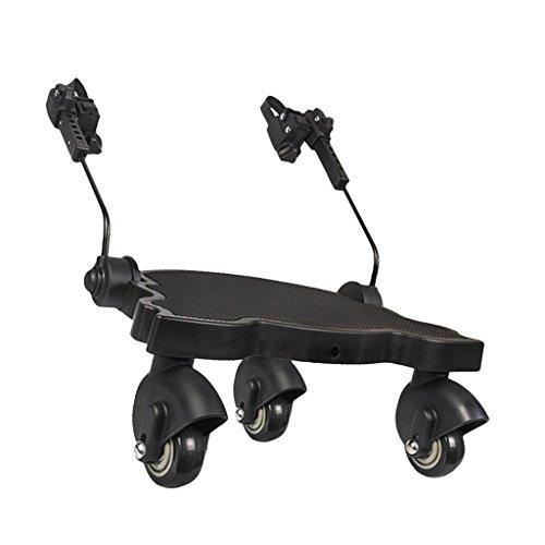 F Fityle Buggyboard Trittbrett Mitfahrbrett Rollbrett für Kinderwagen Buggy Jogger bis 25 Kg
