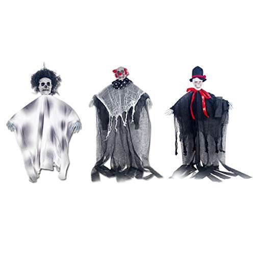 1 Skeleton Horror Props Dekorationen Gankmachine Tür Club Halloween Bar Hanging Spukhaus Hängen Halloween sChrxBtQd