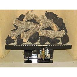 Coals 4 You Fiamma a Gas in Stile Vittoriano V9, 40,6 cm