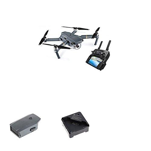 Galleria fotografica DJI Drone Mavic Pro con Videocamera 4K/30 fps, 12MP, Grigio + DJI Mavic Batteria, Grigio + DJI ndoor battery charger