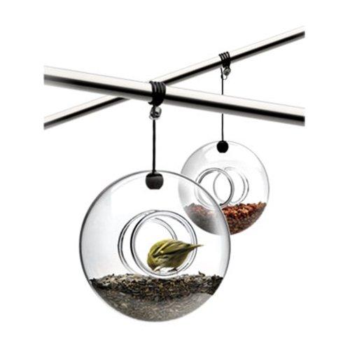Eva Solo 571030 Vogelfutterring, Glas, Breite 20 cm, Mit Aufhängung