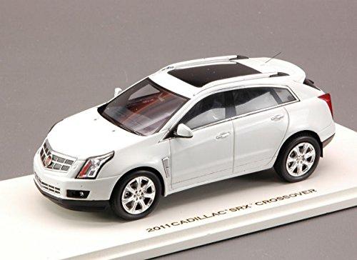 luxury-lx10109-cadillac-srx-crossover-2011-platinum-ice-143-modellino-die-cast