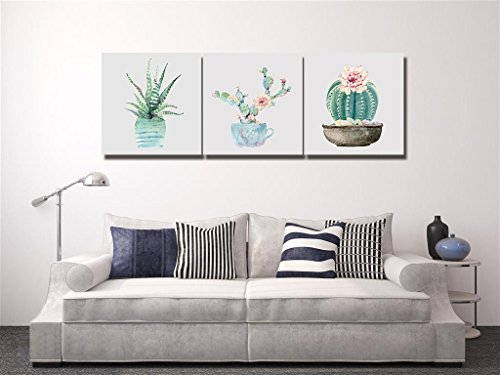 LB Planta Tropical,Cactus,Verde_Arte Pared Pintura