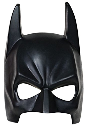 Inception Pro Infinite 7 - 10 Jahre - Kostüm Maske - Verkleidung - Karneval - Halloween - Bat Man - Super Hero - Schwarze Farbe - Kinder - Batman (Super Hero Male Kostüme)