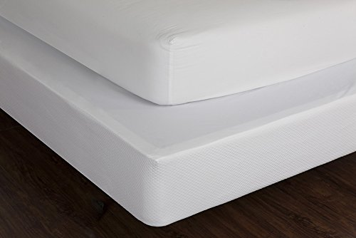 LC Classics Box Spring Cover, 233 Fadenzahl, King (King Box Spring Cover)