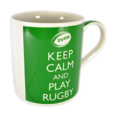 Keep Calm - And Play Rugby by Lesser And Pavey
