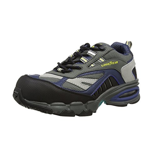 Goodyear GYSHU3864 - Scarpe Antinfortunistiche Unisex Adulti, Grigio (Grey), 47 EU (13 UK)