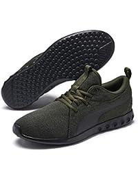 3319393cccb356 Puma Unisex Fitness-Schuhe Carson 2 Multiknit – atmungsaktive Lauf-Schuhe  für Damen und Herren mit gestricktem Mesh und…