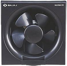 Bajaj. Maxima DXL Domestic abs plastic Exhaust Fan, 200mm (Black, BJLRS004)