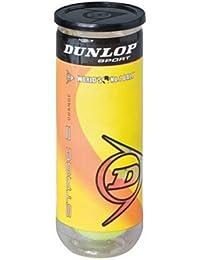 Dunlop Pro Squashball double yellow dot 3 balls tube