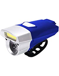 JKLEUTRW LED Fahrradlicht Set Fahrradlampe Scheinwerfer Radfahren USB wiederaufladbare Fahrrad Licht Doppel Lampe Scheinwerfer Fahrrad