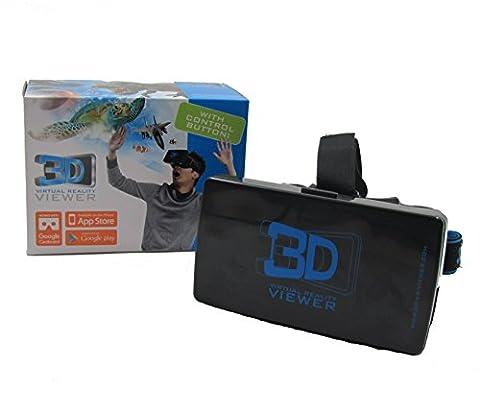 3D Virtual Reality Viewer Brille für Smartphones