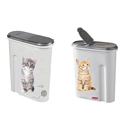 Curver Petlife contenitore di cibo per animali domestici Gatto, 1.5 KG, EF505005