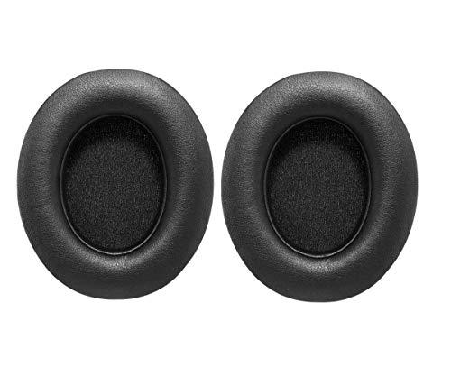 Bingle Remplacement Coussinets d'oreille Coussins Oreillettes pour Beats Studio 2.0 Wired/Studio 2.0 Wireless B0500 / B0501 (1 Paire Noire)