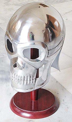 Shiv (TM Shakti Unternehmen Mittelalter Armor Skelett Helm Film Totenkopf Helm römischen griechischen Knight Spartan Griechischen Helm Für Kinder