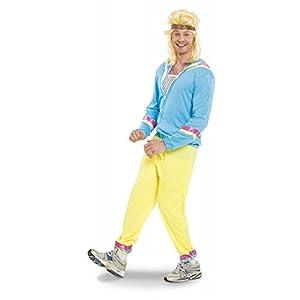 Folat-Adultos Disfraz Chándal años 80, 3piezas