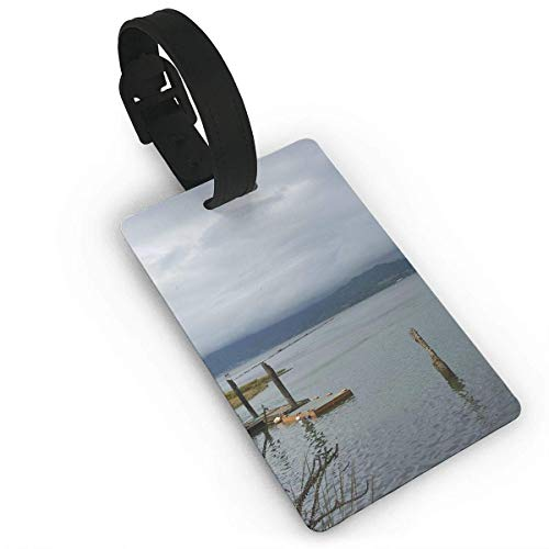 Tillamook Bay Scenery Travel Luggage Tag Suitcase ID Lablels Accessories Leather Wristband Tillamook Bay