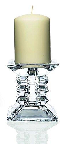 Newgrange Living-Candela a colonna, Zorro, trasparente, 11 cm