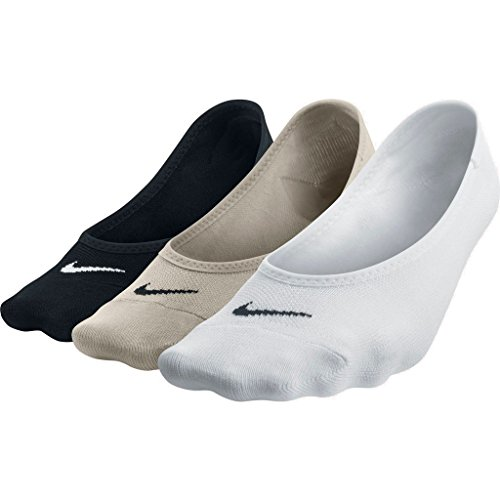 Nike Damen Socken No Show Lightweight 3er Pack, Mehrfarbig, M