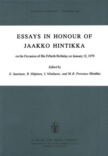 Essays in honour of Jaakko Hintikka on the occasion of his fiftieth birthday on January 12, 1979 (Synthese library)