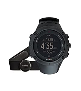 Suunto Ambit3 Peak HR GPS Watch - Black