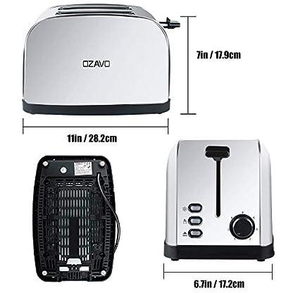 OZAVO-Toaster-mit-Temperaturregelung-Edelstahl-2-Scheiben-Auftau-Modus-Toast-Zentrierung-Krmelschublade