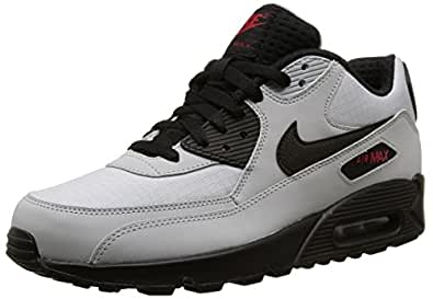 Nike Air Max 90 Essential, Sneakers Basses homme - Gris - Grau (Wolf Grey/Black-Blk-Unvrsty Rd