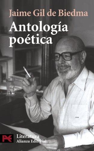 Antología poética (El Libro De Bolsillo - Literatura) por Jaime Gil de Biedma