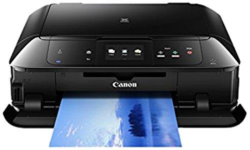 Canon Pixma MG7550 Farbtintenstrahl-Multifunktionsgerät (Drucker, Kopierer, Scanner, USB, WLAN, LAN, NFC, Pixma Cloud-Link) schwarz