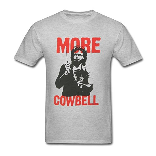 Huserd Men's More Cowbell T-shirt
