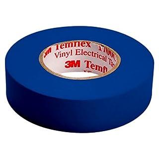 3M TBLA1510Temflex 1500Vinyl Electrical Insulation Tape, 15mm x 10m Self Adhesive Disk Wallet Blue