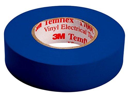 3m tbla1510temflex 1500vinile nastro isolante elettrico, 15mm x 10m, 0,15mm, blu