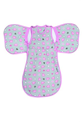 SlumberWings - Saco de dormir para bebé (para todo el año, 2,5...