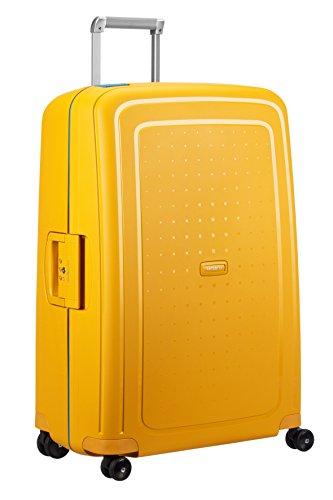 SAMSONITE S'Cure - Spinner 75/28 Bagage cabine, 75 cm, 102 liters, (Pineapple Yellow/caribb.Bleu)