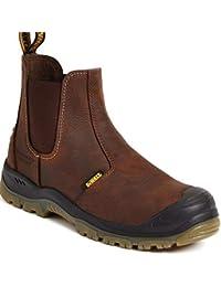 DEWALT - Calzado de protección de Piel para hombre Marrón marrón