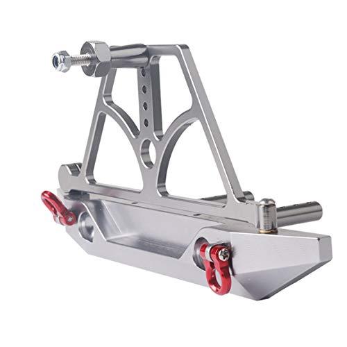1/10 Rock Crawler voiture Axial SCX10 Pare-chocs arrière avec roue de secours rack