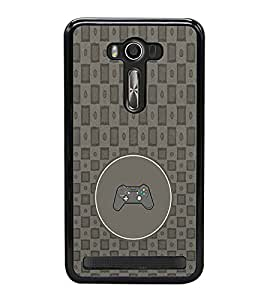 PRINTVISA Abstract Joystick Case Cover for Asus Zenfone 2 Laser ZE500KL::Asus Zenfone 2 Laser ZE500KL (5 Inches)
