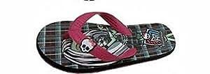 Chaussures-Tongs / Sandale / Claquette à Talon Rose Imprimées Monster High Pointure 34