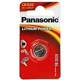 2 Stück Panasonic CR1632 3 Volt Lithium Batterie original