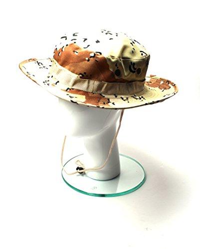Safari Chapeau Chapeau de brousse avec mentonnière Pêcheurs Chapeau de Chapeau - V16-SF015
