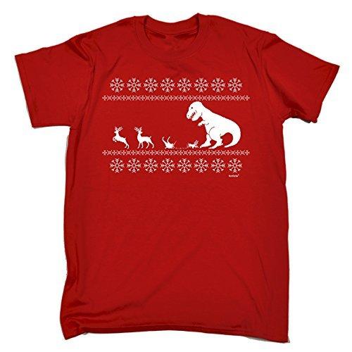 123t Slogans -  T-shirt - Maniche corte  - Uomo Red X-Large