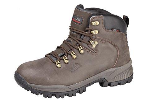 4d4ea704d93 Johnscliffe Johnsliffe Brown Unisex Waterproof Hiking Walking Ankle Boots  (10, Brown)