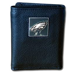 NFL Philadelphia Eagles Leather Tri-Fold Wallet