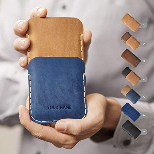 Leder Etui für Nokia 1 7 2 8 6 5 3 150 (2018) Sirocco Plus 8.1 7.1 6.1 3.1 2.1 5.1 8110 4G Hülle Tasche Cover Case personalisiert durch Prägung mit Ihrem Namen