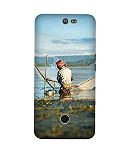 Fisherman Back Cover Case for Infocus M812